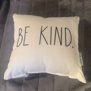 Brand New Rae Dunn Be Kind Small Pillow